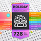 Holiday Thematic Collection of Line Icons