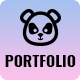 Pandafolio - Modern and Clean Portfolio WordPress Theme + RTL