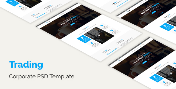 Trading - Corporate PSD Template
