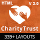 CharityTrust - Nonprofit, Crowdfunding & Charity HTML5 Template
