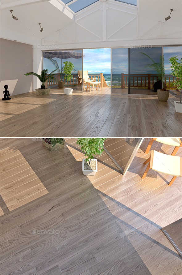 3DOcean 33 Lauzon Oak Natural Flooring 20183776