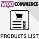 Woocommerce Products List Pro