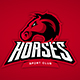 Horses Mascot