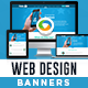 Web Design Banners - Image Included