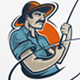 Fisherman / Fishing Logo