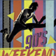 Weekend Vintage Music Poster A3