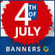 July 4th Sale Banners - Images Included