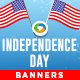 Independence Day Banners - Images Included
