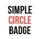 Simple Circle Badge Set