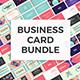 Professional & Creative Business Cards Bundle