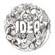 Doodles Sketch Concept for Business, Finance