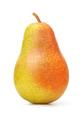 Single ripe fresh pear