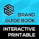 Interactive & Printable Branding Identity Guidelines Book