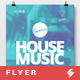 Summer House Music - Flyer / Poster Template A3