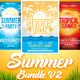 Summer Bundle Flyers Template V2