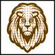 Dots Lion Logo