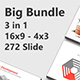 Big Bundle Minimal Keynote Template