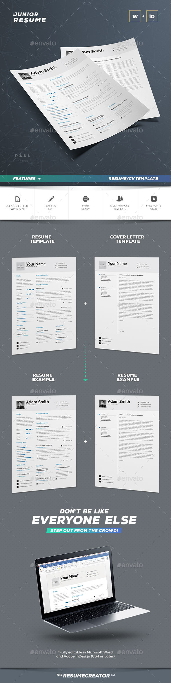 Fine 10 Steps To Creating A Resume Tiny 100 Best Resume Words Square 12 Column Grid Template 13th Birthday Invitation Templates Old 2003 Excel Templates Gray2015 February Calendar Template Resume Templates From GraphicRiver
