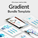 Gradient Bundle Google Slide Template