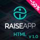 RaiseApp - UI Kit & Website Template
