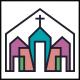 Church Line Colors Logo