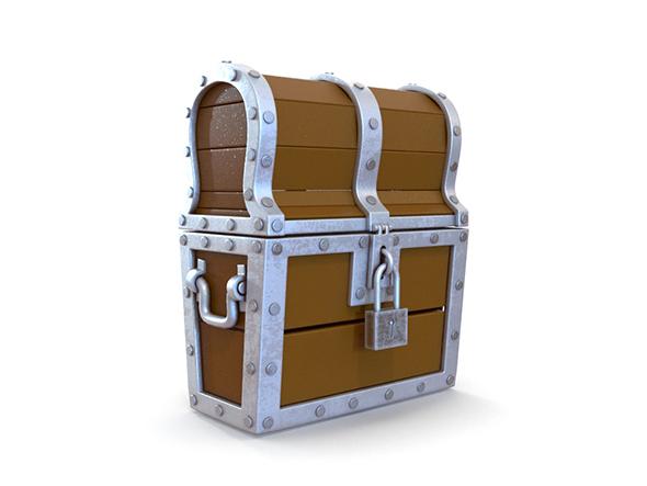 3DOcean Treasure Chest 20203325