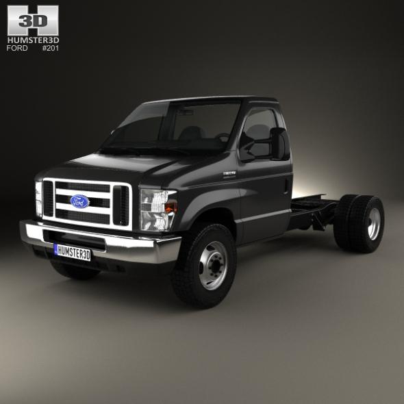 3DOcean Ford E-450 Cutaway 2011 20203542