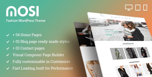 MOSI Fashion Responsive Multi-Purpose WordPress Theme (WooCommerce) images