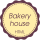 Bakeryhouse - cafeteria, bakery, restaurant, cakes, retro HTML Template