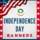 Independence Day Banner Set