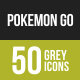 Pokemon Go Greyscale Icons