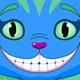 Cheshire Cat jumping