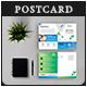 Corporate Business Pro Postcard Invites V03