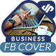 Business Solution Facebook Cover Template