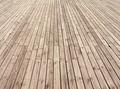 Empty wooden floor background