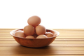 Eggs in Tray