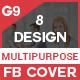 Facebook Cover Bundle (Vol - 8) - 8 Design
