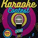 Karaoke Flyer Template V6