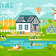 Eco Living Infographic