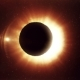 Solar Eclipse Caused By a Lunar Event with Ring of Fire