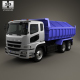 Mitsubishi Fuso Super Great Dump Truck 3-axle 2007