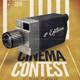 Cinema Contest A3 Template