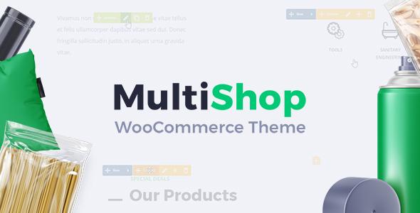 MultiShop – Universal WooCommerce Store Theme (WooCommerce) images