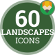 Download Landscape Nature Tree Outdoor Mountain - Flat Animated Icons and Elements from VideHive