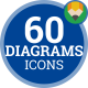Download Chart Diagram Infographic Graph - Flat Animated Icons and Elements from VideHive