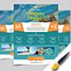 Travel Flyer Design.