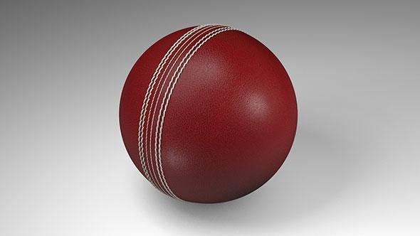 3DOcean Cricket Ball 20213354