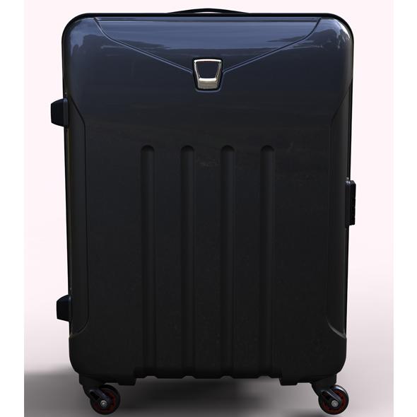3DOcean Polycarbonate Trolley Luggage 20213963