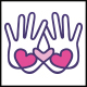 Love Charity Hands Logo