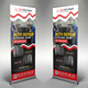 Auto Repair Roll-up Banner